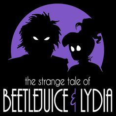 Design #3 in the Burton's Tales series. The strange tale of Beetlejuice and Lydia.