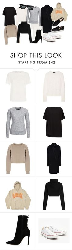 """Untitled #1869"" by fashionistaannie ❤ liked on Polyvore featuring Oscar de la Renta, rag & bone, By Malene Birger, Donna Karan, Ray-Ban, My Mum Made It, STELLA McCARTNEY, Valentino, ALDO and Converse"