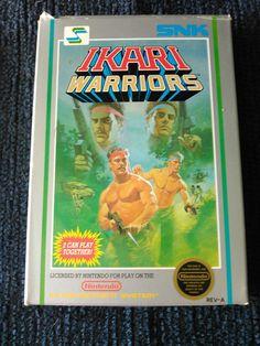 Ikari Warriors  (NES, 1987)