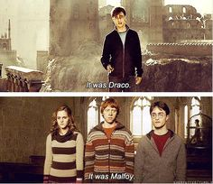 When Harry hated him, he called him Malfoy. When Harry respected and understood him, he called him Draco. [Harry/Redeemed-Draco for life] Harry Potter Quotes, Harry Potter Love, Harry Potter Universal, Harry Potter Fandom, Harry Potter World, Hermione Granger, Draco Malfoy, Harry Draco, Severus Snape