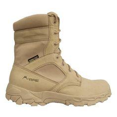 McRae Desert Tan Army Waterproof Goretex boots