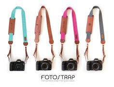 Fotostrap is the camera strap that gives back.  10% of proceeds from every sale is donated to Fotolanthropy, a non-profit that donates portrait sessions and films to inspiring people overcoming adversity.  The Fotostrap can be monogrammed and is made with genuine leather right here in the USA!