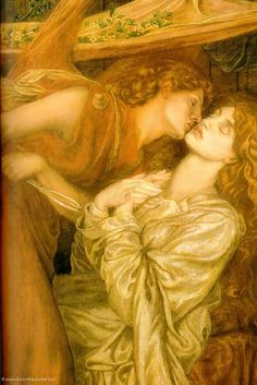 Dante Gabriel Rossetti - Dantes Dream at the Time of the Death of Beatrice