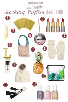 Our favorite stocking stuffers under $100 by LaurenConrad.com