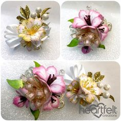 Heartfelt Creations | Lily Corsages