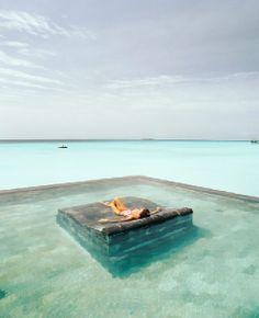 lounging, the Maldives