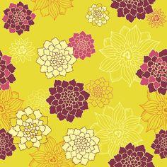 Papel de Parede Floral 1644