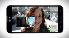 link, play video - Optimus G Pro™ Camera - dual recording and VuTalk