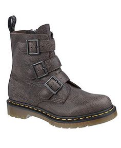 Dr. Martens Women's Shoes, Blake 3 Strap Buckle Boots - Boots - Shoes - Macy's
