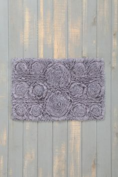 Bed Of Roses Bath Mat