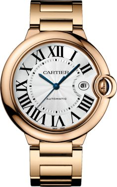 Montre Ballon Bleu de Cartier Or rose, saphir 42mm