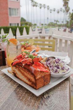 Lobster Roll - Cody's La Jolla - La Jolla, CA.
