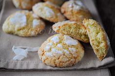 Biscotti morbidi al cocco e limone facili e veloci