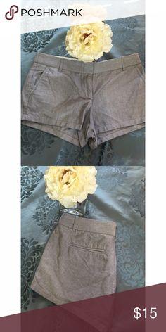 J.Crew shorts Size 8. Short shorts. 100% cotton J. Crew Shorts