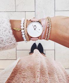 Love the pura vida bracelets with the watch