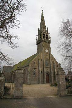 Clocher d'une église de France : 29148 - Mespaul