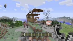 Minecraft: DESTROYED HOUSE BY TNT