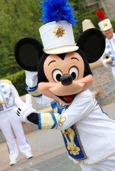 Strike up the band ~ Mickey Mouse Conductor - I've marched with him :3
