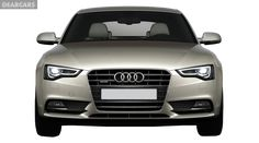 Audi Car Front View PNG