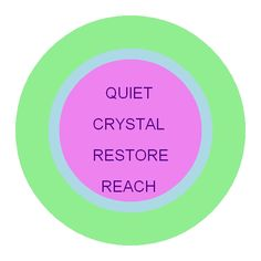 QUIET-CRYSTAL-RESTORE-REACH Helps you locate lost, misplaced objects!