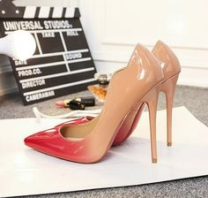 Brand Shoes Woman High Heels 12cm Women Pumps Stiletto Thin Heel Women's Shoes Nude Pointed Toe High Heels Wedding Shoes - Pandora Fashion