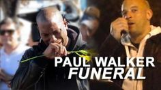Paul Walker Funeral - Tyresse Gibson Cries And Vin Diesel Address Fans - video dailymotion Paul Walker Funeral, Rip Paul Walker, Nissan Gtr Skyline, Skyline Gt, Fast And Furious Cast, Dominic Toretto, Furious Movie, Movie Facts, Vin Diesel