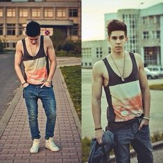 Male Hipster Fashion Summer