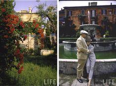"""Nella """"casa più bella della mondo"""":  la villa di Sofia Loren"""