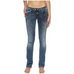 Klassische Hilfiger Denim Jeans Vicky im Slim Fit mit Stretchanteil und mittel-blauer Waschung. Das Flag-Label befindet sich auf Münz- und Gesäßtasche.92% Baumwolle, 6% Elastomultiester, 2% Elastan...