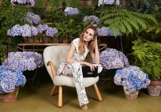 Aerin Lauder taps Olivia Palermo to star in her new fall accessories campaign for Aerin.