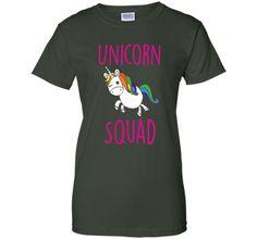 Unicorn Squad Cute Funny Unicorn Shirt