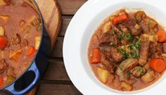 Old-Fashioned Beef Stew for the Traeger