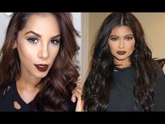 Watch this awesome makeup tutorial video inspired by Kylie Jenner and recreate Kylies makeup look!