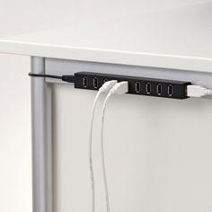 Elecom U2H-Z10S 10 Port USB Hub - U2H-Z10S | AudioCubes.com ($69.99) - Svpply