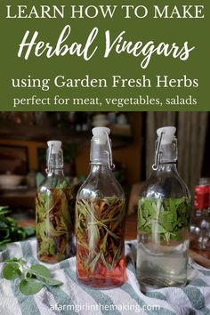 Herb Recipes, Canning Recipes, Whole Food Recipes, Herbal Essences, Infused Oils, Stone Fruit, Drying Herbs, Fresh Herbs, Herbal Remedies