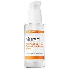 The best melasma product I've ever used.  Rapid Age Spot and Pigment Lightening Serum - Murad | Sephora