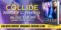Sarit Yahalomi: Celebrate the release of COLLIDE by Ashley C. Harr...