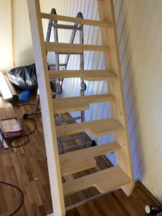 Stairs my dad and me build for one of our clients