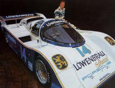Al Holbert, Holbert Racing Lowenbrau Special Porsche 962C-Artist Craig Tennant