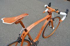 Sueshiro Sano - Wooden bicycle designs