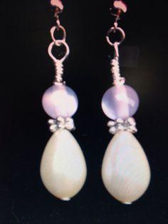 Wedding Bells: Handmade Beaded Earrings on Etsy, $8.99