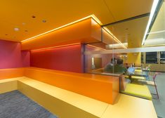 Google's colourful Madrid headquarters by Jump Studios | interiors