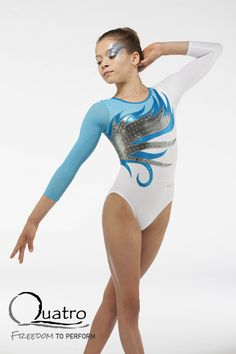 Girls long sleeve leotard