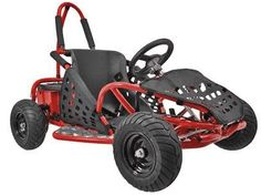 Take a look at a really cool kids off road electric go kart by Go Bowen. This 1000 watt off road go kart will provide your child with hours of off road fun! Electric Go Kart, Electric Power, Electric Cars, Karting, Gas Go Kart, Offroad, Pocket Bike, Roll Cage, Kids Ride On