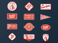 Find tips and tricks, amazing ideas for Retro logos. Discover and try out new things about Retro logos site Typography Logo, Logo Branding, Branding Design, Portfolio Book, Portfolio Layout, Retro Logos, Vintage Logos, Vintage Graphic, Badge Design