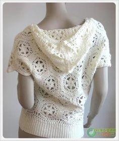 Exceptional Stitches Make a Crochet Hat Ideas. Extraordinary Stitches Make a Crochet Hat Ideas. Crochet Hoodie, Crochet Jacket, Crochet Cardigan, Crochet Diagram, Crochet Patterns, Crochet Woman, Crochet Crafts, Crochet Clothes, Clothing Patterns