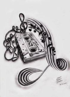 Free music tattoo designs