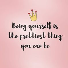 Be yourself, you are beautiful and unique! ♥⠀There's no-one more youer than you! (Dr Suess)