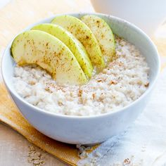 Kuituinen kaurapuuro Oatmeal, Grains, Breakfast, Google, Life, Food, The Oatmeal, Morning Coffee, Rolled Oats