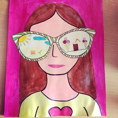 Back To School Art, Art School, Drawing Projects, Art Projects, Classe D'art, 3rd Grade Art, Virtual Art, Art Lessons Elementary, Science Art